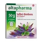 Леденцы с шалфеем и витамином С для лечения кашля и охриплости 50гр. - Altapharma Salbei-Bonbons mit Vitamin C, 20 шт. (Германия)