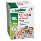 Витаминный комплекс Altapharma A-Z Depot Multivitamin + Mineral Tabletten - поливитамины + минералы (Германия) 100 шт.