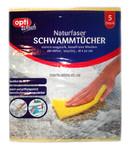 Салфетки для уборки Opti Wisch Schwammtucher (губки прорезиненные для уборки) 18 x 20 см. 5шт. (Германия)