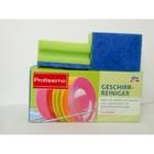 Губки для посуды с антибактериальным эффектом - DenkMit profissimo Geschirrreiniger 6 шт., (Германия)