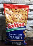 BIG PACK!!! Арахис жареный соленый в пакете Soltino 500гр.