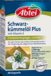 Abtei Schwarzkummelol -  Масло черного тмина плюс витамин Е в капсулах, 48 шт - Способствует поддержанию нормального уровня холестерина в крови. (Германия)