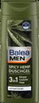 Новинка! Balea MEN Duschgel Spicy Hemp 300 ml - Гель для душа с мягким ароматом конопли 3в 1: для тела, лица и волос. (Германия) 300 мл.