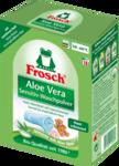 Порошок концентрат для чувствительной кожи Frosch Vollwaschmittel Pulver Aloe Vera Sensitiv 18 стирок (Германия)