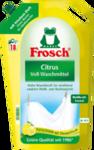"""Frosch  Vollwaschmittel flussig Citrus, 20 Wl - Жидкий порошок (гель) для стирки светлого белья """"Цитрус"""". 20 стирок(Германия)"""