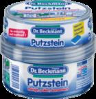Чудо-Паста 3 в 1 Dr.Beckmann Putstein Ultrastark - 400мл. (чистит до блеска и прополирует плиту, чайник, любые рабочие поверхности, бетон, трубы, мебель из сада, унитазы, мебель и окна из пластика)  Германия