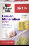 Комплекс набор женских минералов и важных питательных веществ для женщин! - Doppelherz Frauen Mineralien Depot, 30 табл.  (Германия)