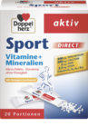 Doppelherz Sport direct Direktgranulat, 20 пакетиков - Витаминно-минеральный комплекс, полезный при занятиях спортом и фитнесом. Он усиливает расход калорий при физических нагрузках, что способствует похудению, активизирует и ускоряет энергетические обменные процессы в организме (Германия)
