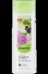 Alverde Family-Shampoo  Malve und Brombeere - органическая шампунь для всех видов волос с экстрактом мальвы и ежевики. 300мл. (Германия)