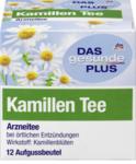 DAS gesunde PLUS KamillenTee, 12 x 1,5 гр,18 g -  Натуральный травяной чай с ромашкой с противовоспалительным действием. (Германия) 12 пакетиков