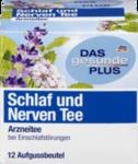 DAS gesunde PLUS Schlaf und Nerven Tee, 12шт x 1,5 гр=18р -  Натуральный травяной растительный лекарственный чай для лечения для бессонницы и нервного возбуждения. (Германия) 12 пакетиков
