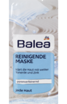 Balea Reinigende Maske - маска Очищающая (Германия) 2 шт х 8 мл.