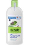 Alverde NATURKOSMETIK Mundspulung Nanaminze 5 in 1, 450 ml - Натуральная ополаскиватель для полости рта 5 в 1 с экстрактом мяты колосистой. Объём 450 мл. (Германия)