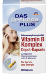 Витаминный комплекс с витамином B (все 8 витаминов B!!!) -  DAS gesunde PLUS Vitamin B Komplex Depot-Kapseln при чрезмерных физических нагрузках, несбалансированном питании, частых стрессах, а также, для оптимального функционирования центральной нервной системы  (Германия)