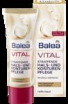Balea VITAL Straffende Hals und Konturenpflege - Укрепляющий крем для контура лица, шеи, области декольте 50мл.  (45+) (Германия)