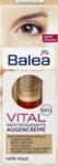 Balea Vital Anti Mudigkeits Augencreme 5in1, 15 ml Крем-уход для деликатной кожи вокруг глаз (от темных кругов, убирает мешки под глазами, снимает отечность век и разглаживает мелкие морщинки) (45+) (Германия) 15 мл.