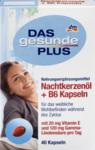 Комплекс витаминов для женщин с В6 - Das gesunde Plus Nachtkerzenol + B6 Kapseln, 40 капсул  (Германия)