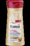 Balea VITAL Korperlotion 400 ml - лосьон для тела Витал 400мл, делает кожу гладкой и эластичной с аргановым маслом, кофеином и богатым маслом Ши. (45+) (Германия)