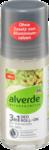 NATURKOSMETIK  alverde Deo Roll-on Invisible 48H Hamamelis Reis, 50 ml - шариковый дезодорант-антиперспирант с формулой риса и экстракта листьев Гамамелиса. 50мл. (Германия)
