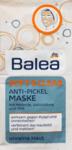 Balea young Soft & Clear - Anti Pickel Maske mit Tonerde - противоточечная  маска с натуральным, естественным исцелением земли 16 ml (Германия)