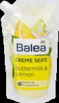 Запаска Жидкое мыло Balea Flussigseife Ginger & Lemon Nachfullpackung, 500 ml - запаска жидкое мыло Buttermilch + лимон 500 ml (Германия)