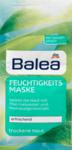 Balea Feuchtigkeits maske - увлажняющая маска пилинг для лица 2 шт х 8 мл (Германия)