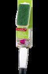 Многоразовая губка с ручкой для мытья кастрюль DM Profissimo Topfreiniger mit Spulmittelspender 1 шт.Германия.
