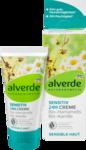 Alverde  NATURKOSMETIK sensitiv 24h-Creme Hamamelis Kamille, 50 ml - Дневной крем для особых потребностей чувствительной кожи. 50мл. (Германия)