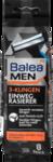 Станки мужские для бритья одноразовые Balea MEN Einwegrasierer 3 Klingen, 8 штук 3-x лезвинная система!!! (Германия)
