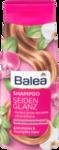 Balea Seidenglanz Shampoo mit Frangipani und Perlen-Extrakt - шампунь c Франджипани и экстрактом жемчуга. (для блеска и бархотистости волос) 300 мл.(Германия)