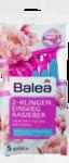 Balea Женские станки для депиляции, 5 станков 2-х лезвинной системы (Германия)