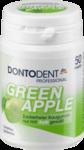 Dontodent Professional Apple 50 Dragees - жевательные подушечки без сахара для защиты зубов - зеленое яблоко (Германия) 50шт.