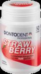 Dontodent Professional Strawberry 50 Dragees - жевательные подушечки без сахара для защиты зубов - клубника (Германия) 50шт.