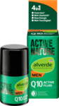 Alverde men Q10 Active-Fluid, 4in1 - Мужской активный флюид 4в1 50мл, для наполнения энергии и получения большей влаги. (Германия)