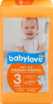 Babylove Windeln Premium aktiv plus Große 3, midi 4-9kg, 50 St - немецкие Премимиум актив подгузники для детей 4-9кг. (Германия) 50 шт.