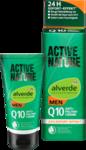 Alverde men Active Nature Q10 Anti-Falten Creme, 50 ml - Мужской активный натуральный крем против морщин с Q10, Мгновенный эффект, 24часа, с гиалуроновой кислотой и технологию Aquaxyl, 50мл. (Германия)