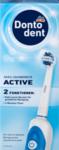 DONTODENT  Elektrische Zahnburste Active 1 St - электрическая зубная щетка для чистки зубов на аккумуляторе. (Германия)
