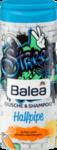 "Balea Kids Dusche & Shampoo Halfpipe - Гель-душ + шампунь без слез для детей ""Халфпайп"" (Германия) 300мл."