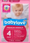 Babylove babylove  Windeln Premium Große 4, maxi 7-18kg, 42 St - 42 штук -  немецкие Ghtvbev подгузники (Германия)