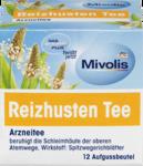 Mivolis Arznei-Tee, Reizhusten Tee, 16,8g , 12шт x 1,5 гр=18р -  Натуральный травяной растительный лекарственный чай дчай от кашля Успокаивает слизистые оболочки верхних дыхательных путей (Германия) 12 пакетиков