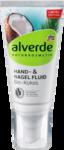 alverde NATURKOSMETIK Hand- und Nagelfluid pflegend, 50 ml - Ухаживающий флюид для рук и ногтей для экстра легкого и мягкого ощущения кожи с био кокосом.