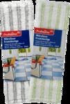 Profissimo Bodentucher Mikrofaser Ersatzbezuge, 2 шт - сменные насадки тряпки с микрофиброй для мытья пола 42см. (Германия)