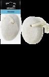 ebelin Bimsstein oval - овальная пемза для ног от мозолей со шнурком 1 шт.  (Германия)