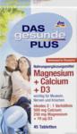 Витаминный комплекс Magnesium + Calcium 500mg + D3, Tabletten, 45 St -  магнезиум+кальций D3 (Германия) 45шт.