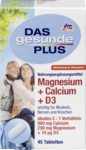 Витаминный комплекс Magnesium + Calcium 500mg + D3, Tabletten, 45 St -  магнезиум+кальций D3 (Германия) 45шт.