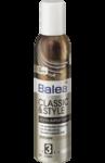 Пена для волос Balea Classic & Style Schaumfestiger №3- Пена для волос ультра сильной фиксации.(Германия)