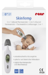Медицинский инфракрасный термометр для ребенка, позволяющий измерять температуру у спящих детей за 1 секунду -  REER SkinTemp kontaktloses Fieberthermometer Infrarot-Thermometer, 1 St (Германия)