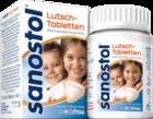 Рассасывающиеся таблетки для детей 4-х лет, школьников и взрослых Sanostol Lutschtabletten 75 шт - витаминный комплекс для детей для нормального роста и развития костей у детей. (Германия)