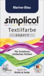 Simplicol expert Marine-Blau, 150 гр - Текстильная краска цвета морской волны (Германия)