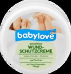 babylove Wundschutzcreme sensitive, 150 ml - Защищающий детский крем для защиты кожи в области пеленания (Германия) 100гр.